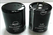 80v3300uf 80v 35x50mm Electrolytic Capacitor 2PCS
