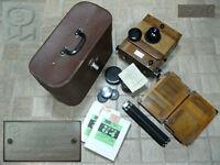 Soviet Russian old FKD 13x18 Large Format camera Lens Industar-51 4.5 / 210 USSR
