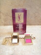 Yves Saint Laurent YSL ELLE Bag Accessory Solid Perfume + Lip Gloss in Box