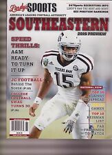 LINDY'S SPORTS MAGAZINE SEC COLLAGE FOOTBALL 2016 PREVIEW, MYLES GARRETT COVER.