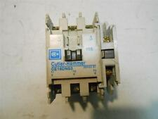 *USED* CUTLER HAMMER CE15DNS3 CONTACTOR 18AMP 3POLE & 1-C320KGS1 AUX CONT BLOCK