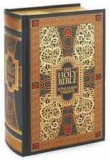 The Holy Bible King James Version  Leatherbound BRAND NEW FACTORY SEALED HC BOOK