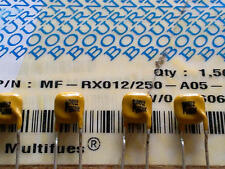 5 Stück Bourns MF-RX012-250 Resettable Fuse (Multifuse) 0,12A 60V (M1550)