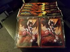 World of Warcraft MTG Magic Selora the Succubus Card Sleeves 80 Count Pack L@@K!