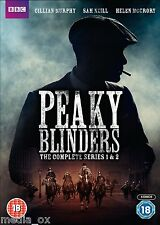 Peaky Blinders: The Complete BBC Series (Season) 1 & 2 Collection Box Set | DVD