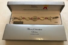 Marcel Drucker Ladies Sterling Silver - Mother Of Peal Cobachan & Pink CZ Watch
