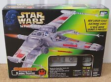 STAR WARS ELECTRONIC X-WING FIGHTER POWER OF THE FORCE MSIB