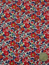 LIBERTY PRINTS  TANA LAWN FABRIC   BETSY ANNE   2.1 METRES L2327