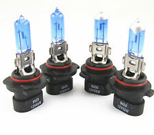 9005XS 65W HIGH BEAM+ 9006XS 55W LOW BEAM WHITE XENON HID HALOGEN HEADLIGHT BULB