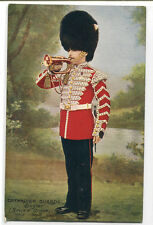 Bugler Grenadier Guards Review Order British Army Military Tuck postcard