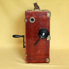 Ernemann Normal Kino 35mm wooden German movie camera CLA works RARE Ernon