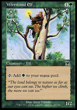 Wirewood Elf X4 EX/NM Onslaught MTG Magic Cards Green Common