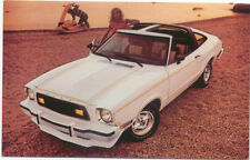 Ford Mustang 2+2  with T Roof Convertible option for 1978 original Postcard