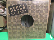 DECCA RECORDS COMPANY FACTORY PAPER SLEEVE ONLY NO RECORD 10 INCH 78 RPM