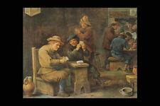 402072 Jouers De Cartes David Teniers The Younger A4 Photo Print