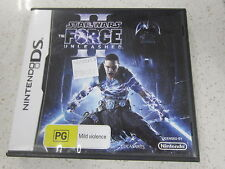 Star wars force unleashed II DS