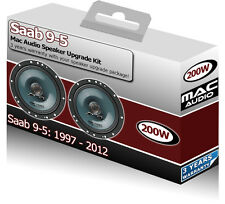 "Saab 9.5 95 9-5 Front Door speakers Mac Audio 6.5"" 17cm car speaker kit 200W"