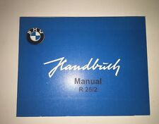 BMW Owners Manual R25/2