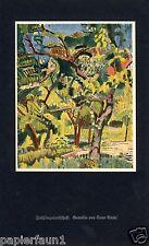 Frühling Landschaft Kunstdruck von 1930 by Cuno Amiet * Solothurn † Oschwand +