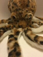 K & M Wild Republic  Brown Spotted Octopus Very Soft Plush