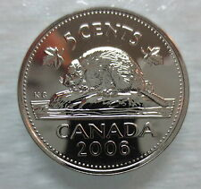 2006P CANADA 5 CENTS PROOF-LIKE COIN - A