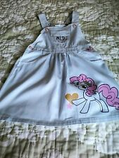 LOVELY GIRLS MY LITTLE PONY DUNGAREES SIZE 7 (EUROPEAN 122) FAB CONDITION