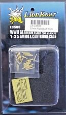 LION ROAR 1/35th Scale WWII German Flak 43 Ammo & Cartridge Case No. L3506