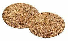 Master Class Artesà Bamboo Rattan Round Placemats, 28 cm (Set of 2)