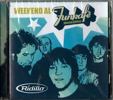 RIDILLO WEEKEND AL FUNKAFE' CARMEN VILLANI SPECIAL EDITION CD SEALED ITALY 2005