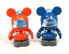 NEW Disney Vinylmation 60th Park 16 Monorail Set of 2 Red & Blue Topper Figures
