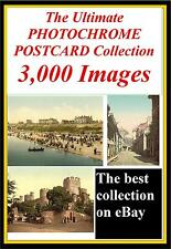 3000 vintage photochrome antique vintage carte postale couleur photo business cd