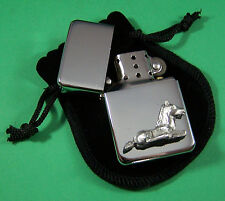 FOAL SITTING Petrol Lighter in Pouch Free UK Post Racing, Equine, Pony