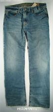 American Eagle Mens Medium Resin Whisker Loose Jeans 33x34 NWT