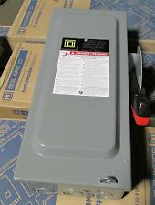 O Square D 30 amp Safety Switch Disconnect Cat.#H321N  NIB new in box