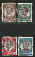 Germany 1934 Lost Colonies (432-35) fine used