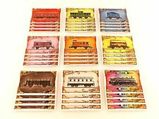 Ticket to Ride Europe Replacement / Expansion Game Pieces Train Cards 36x