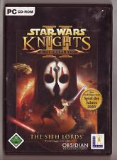 Star wars knights of the old republic ii 2 the sith lords pc jeu