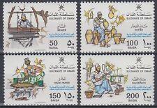 Oman 1988 ** Mi.317/20 Handwerk Craftwork Weber Töpfer Handicraft