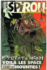 A14- Spirou N°3152 Voila les space Mounties!