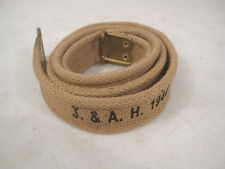 WWII British Khaki Canvas Sling for SMLE Enfield Rifle Dated 1944 - Reproduction
