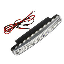 2Pcs Super White 8 LED Universal Car DRL Daytime Running Head Light Lamp DC12V