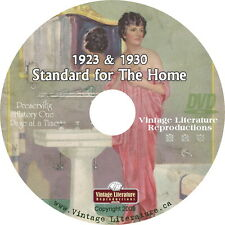 1923 1927 1930 Standard Plumbing Fixture Catalog {Retro Bathroom Design } on DVD