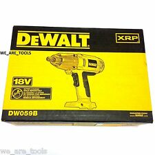 "NEW IN BOX Dewalt DW059 18V Cordless Impact Wrench 1/2"" 18 Volt XRP"