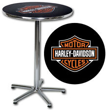 HARLEY DAVIDSON ® BAR & SHIELD CAFE TABLE (2) chairs