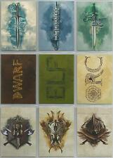 "The Hobbit Five Armies - ""Weapons"" Set of 9 Chase Cards #W1-W9"