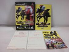 PlayStation2 -- Winning Post 4 MAXIMUM & GI Jockey 2 -- PS2. JAPAN GAME. 31517
