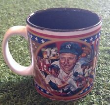 """Sports Impressions MICKEY MANTLE No. 7 NEW YORK YANKEES in the SIXTIES 4"""" Mug"""