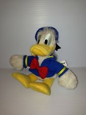 Donald Duck Walt Disney World Bean Bag Plush Stuffed Animal 10 Inches Long