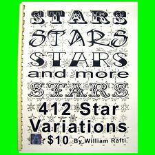 Stars Star tattoo flash designs sun art William Rafti Book