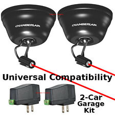 Pair Set Chamberlain Universal Laser Garage Parking Device Assist System CLULP1